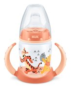 NUK First Choice 迪士尼維尼熊學飲杯 -  * The NUK 150 ml First Choice drinking learning bottle with cute Winnie the Pooh design is ideal for the transition from mother´s breast to independent drinking