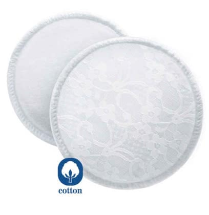 AVENT 新安怡可洗式溢乳墊 -  * Very environmentally friendly is the use of the AVENT washable breast pads.