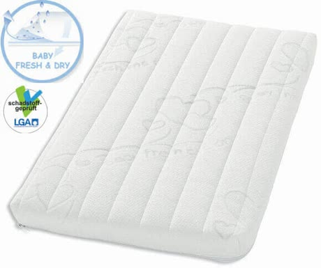 Zöllner Climatix Plus 搖籃、嬰兒床和嬰兒車用床墊 - * The Zöllner Climatix Plus mattress is characterized by its excellent support chracteristics: it is breathable, point elastic and with integrated moisture protection.