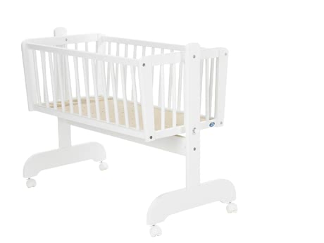 Alvi Sina 搖籃 -  * The Alvi cradle Sina has a lying area of 40x90cm and 4 braked rolls and make a flexible use possible.