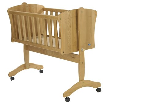 Alvi Pia 搖籃 - * The Alvi baby cradle Pia provides your sweetheart a large reclining surface, is very stable and equipped with castors - that allows you quickly and easily moving the baby cradle anywhere you want