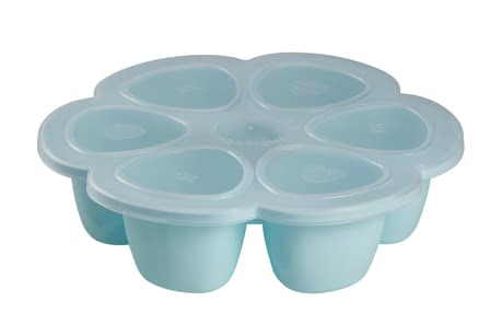 Béaba多空間食物容器硅膠材質 -  * With Béaba's multiportions you can easily portion and freeze your little one's freshly cooked meal. The innovative design which is sectioned in six small containers which are available in either 60 ml, 90 ml or 150 ml each. Each portion is equal to the ideal meal size for your child (depending on age).