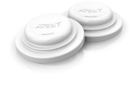 AVENT 奶瓶間隔蓋 -  * With the closure lids you transform all Avent bottles in storage containers for breast milk or baby food.