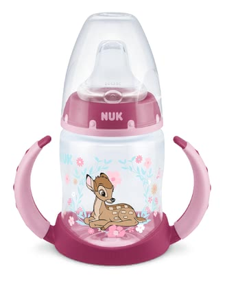NUK First Choice學飲杯 150ml -  * ✓ Learner bottle with temperature control ✓ soft silicone spout ✓ suitable from 6 months ✓ leak-proof ✓ anti-colic air system