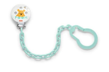 NUK 迪士尼維尼熊奶嘴鏈 - With the NUK Disney Winnie the Pooh soother chain your baby's pacifier is always in place.