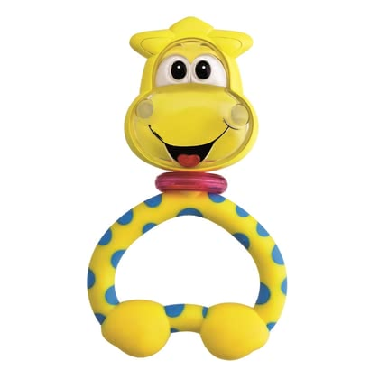 "Chicco 趣味搖環 - * The Chicco rattle ""Lustige Rasselbande"" fits ideal in small children hands and provides a lot of rattle-fun"