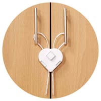 Reer 可調櫃門鎖 - * The Reer cabinet lock with a flexible band offers easy assembly and your sweetie a lot of protection