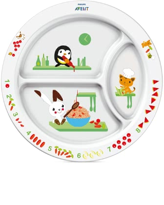 AVENT 學食盤 -  * With the colorful Avent dishes every meal makes fun.