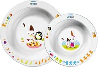 AVENT 碗盤組 -  * With the colorful Avent dishes every meal makes fun.