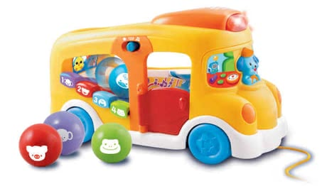 Vtech 益智學習公車 -  * The VTech play and learning bus guarantees a lot of variety and fun