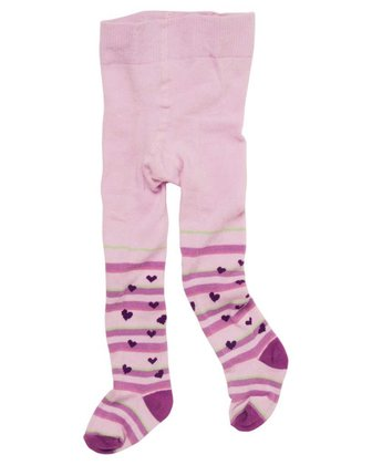 Playshoes tights with comfort waistband, patterned Herzchen 2014 - 大圖像