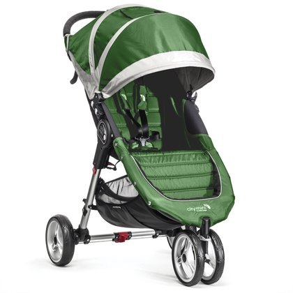 Baby Jogger City Mini™ 3-wheeler Lime_ Gray 2016 - 大圖像