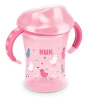 NUK Easy Learning 學飲杯,250毫升 -  * Trains the drinking from the cup rim * leap-proof special valve * For children from 8 months
