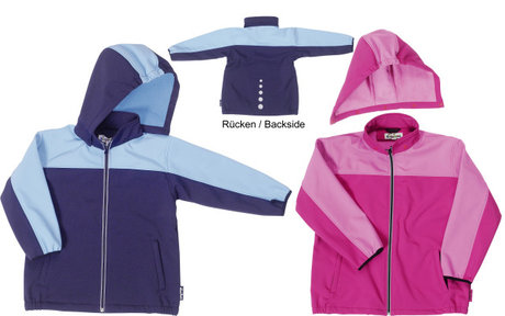 Playshoes softshell jacket, sportive 2014 - 大圖像