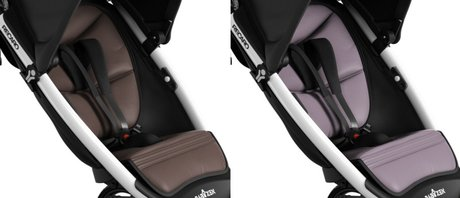 BABYZEN by RECARO Adapter for Maxi-Cosi Pebble/ Cabriofix Brown - Sea Fog 2012 - 大圖像