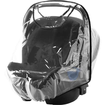 Britax Römer 嬰兒提籃 Baby-Safe 全型號雨罩 - * The Britax Römer rain cover for all Baby-Safe infant car seats protects your baby from the wind and rain
