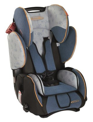 STM Storchenmühle Starlight SP child car seat cosmic blue - 大圖像