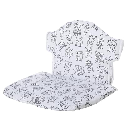 Geuther 嬰兒座椅內墊 Swing - The Geuther chair insert suits perfect to the Geuther high chair Swing. It offers a pleasant sitting comfort and an easy handling.