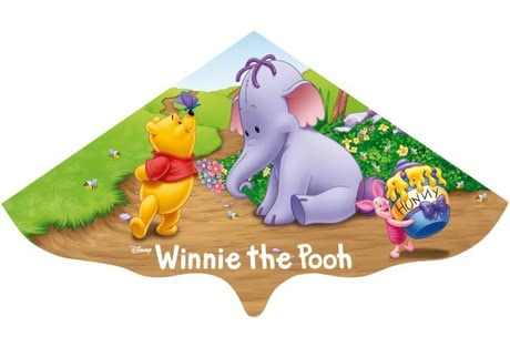 Winnie the Pooh kite - * The cute Winnie the Pooh glider has a cord length of 40 m and is perfect for beginners