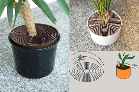 Reer 花盆護欄 - * The Reer Flower pot grids avoid your children grubbing in the flower pots