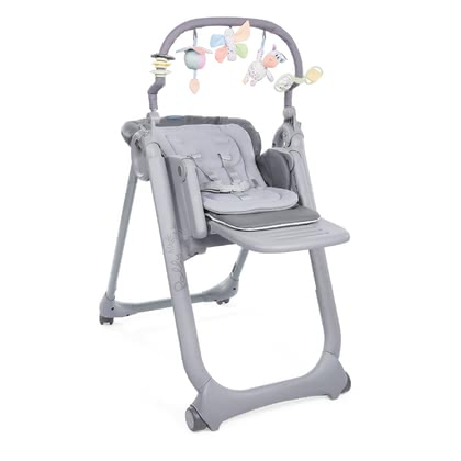 chicco 高腳餐椅 Polly Magic Relax GRAPHITE 2021 - 大圖像