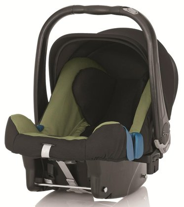 Britax Römer 嬰兒提籃 Baby Safe Plus II Cactus Green 2015 - 大圖像