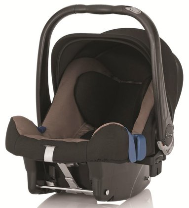 Britax Römer 嬰兒提籃 Baby Safe Plus II Fossil Brown 2015 - 大圖像