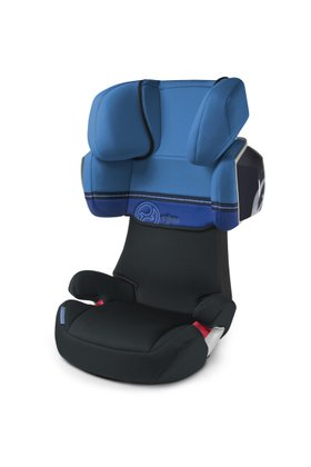 Cybex Car Seat Solution X2 Haevenly Blue-blue 2013 - 大圖像