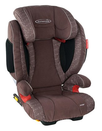 STM Storchenmühle car seat Solar Seatfix chocco 2015 - 大圖像