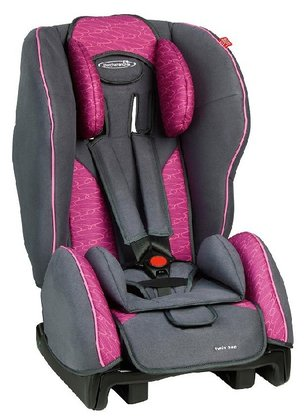STM Storchenmühle Twin One child car seat rosy 2015 - 大圖像