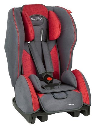 STM Storchenmühle Twin One child car seat chilli 2015 - 大圖像