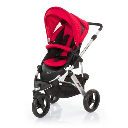 ABC Design Cobra incl. sport seat and hard carrycot cranberry 2015 - 大圖像