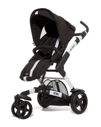 ABC Design 3-Tec incl. pushchair attachment and hard carrycot granit 2014 - 大圖像