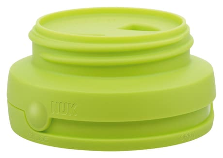 NUK 奶瓶蓋 Open & Close - * The handling of the NUK Open & Close twist lock is very easy, very hygienic and saves time.