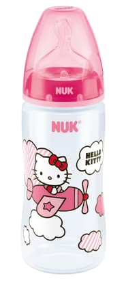 NUK Hello Kitty First Choice+ baby bottle, Silicone Anit-Colic teat 2014 - 大圖像
