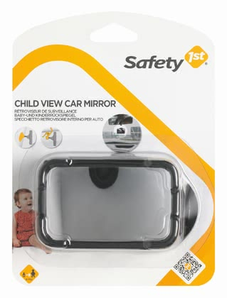 Safety 1st 後視鏡 -  * Thanks to the safety mirror you have always a look on your little darling also contrary to the driving direction