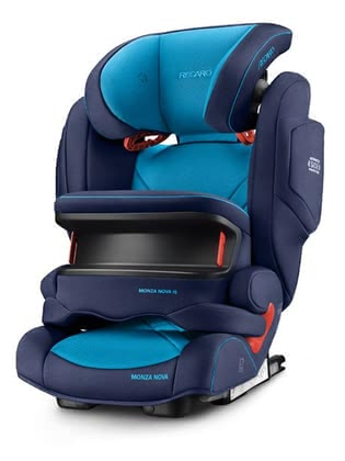 Recaro 兒童汽車安全座椅Monza Nova IS Seatfix Core Xenon Blue 2020 - 大圖像