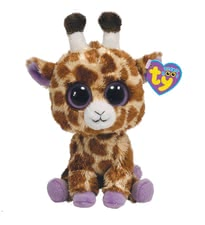 Beanie Boo 長頸鹿絨毛玩具 -  * The Beanie Boo Safari giraffe conquers by the big eyes every heart in seconds and invites to cuddle