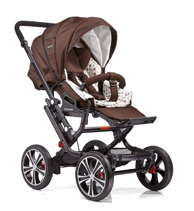 Gesslein 兒童推車 F10 Air+ - The Gesslein F10 stroller offers driving comfort on every kind of road thanks to 4 big wheels