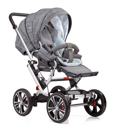 Gesslein 兒童推車 F10 Air+ - * The Gesslein F10 stroller offers driving comfort on every kind of road thanks to 4 big wheels