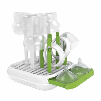 Chicco Bottle drying rack - * Thanks to the Chicco feeding bottle drainer will feeding bottles, teats and other baby accessories find a suitable place for draining and drying after cleaning