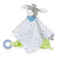 Sterntaler 绒毛玩偶手巾,附磨牙胶环 -  * The Sterntaler cuddly blanket invites to cuddle and loving