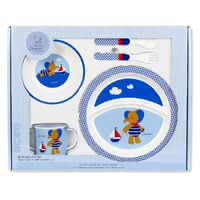 Sterntaler 兒童餐具組 - With the four-part Sterntaler children dishes set your sweetheart can learn eating like the grown-ups!