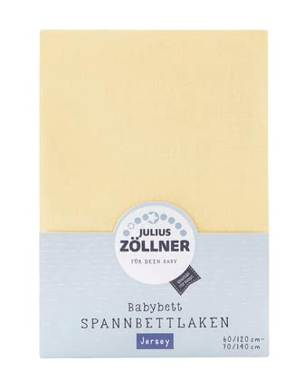 Zöllner 針織嬰兒床單 -  * The soft and smooth fitted sheet by the manufacturer Zöllner supplies your little one with the most peaceful dreams.