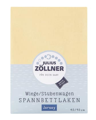 Zöllner 搖籃、嬰兒床用針織床單 -  * Featuring a size of 90 x 40 cm, the fitted sheet by Zöllner fits the mattress of your little one's cradle perfectly and ensures peaceful dreams for your child.