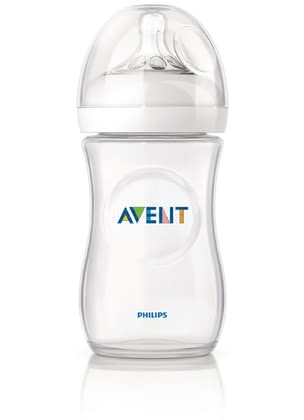 AVENT 安撫奶瓶 -  * Close to nature! The bottle is ergonomically shaped and easy to hold and grip in any direction for maximum comfort, even for your little one's tiny hands.