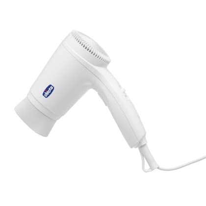 Chicco 迷你嬰兒吹風機 -  * Chicco's mini hair dryer for babies spread the warm air evenly and heats it up to about 45°C. The generated heat of the baby hair dryer is about 25°C lower than that of a common hair dryer.