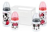 NUK First Choice+ 迪士尼米奇入門奶瓶套件 -  * The First Choice+ starter set Disney Mickey by NUK contains all essential baby bottles and teats for a perfect start with your newborn baby.