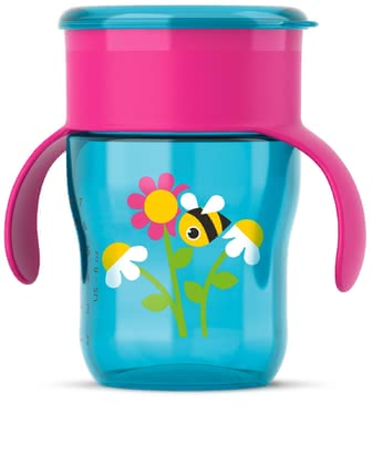 AVENT 水杯,260毫升 - This adorable cup by the manufacturer Avent quickly and easily supports your little one's first attempts at drinking naturally – such as from a glass.