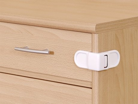 Reer 櫃子、抽屜開關黏貼保護 -  * The Reer Cabinet and Drawer Lock is the best to close securily dangerous objects in cabinets.